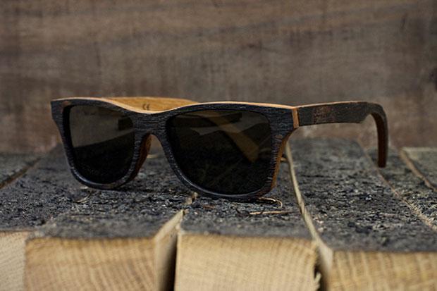 "Image of Bodega x Shwood ""The Bushmills"" Sunglasses"