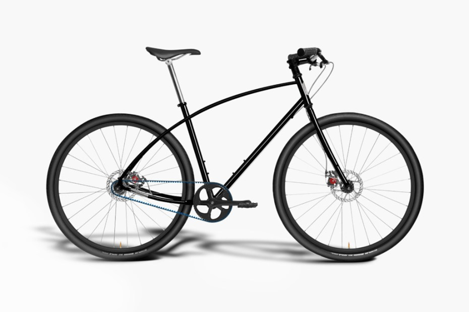 Image of Budnitz Bicycles Model No.3 in Black Cro-Moly Steel