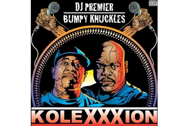 Image of Bumpy Knuckles featuring Nas – Turn Up the Mic (Remix) (Produced by DJ Premier)