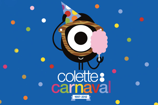 "Image of Busy P ft. Linlee Allen ""Colette C'est Chouette"" for colette Carnaval 2012"