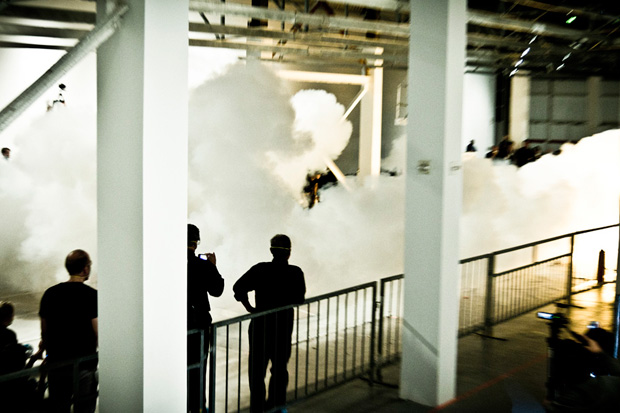 "Image of Cai Guo-Qiang ""Sky Ladder"" Exhibition @ MOCA Preview"