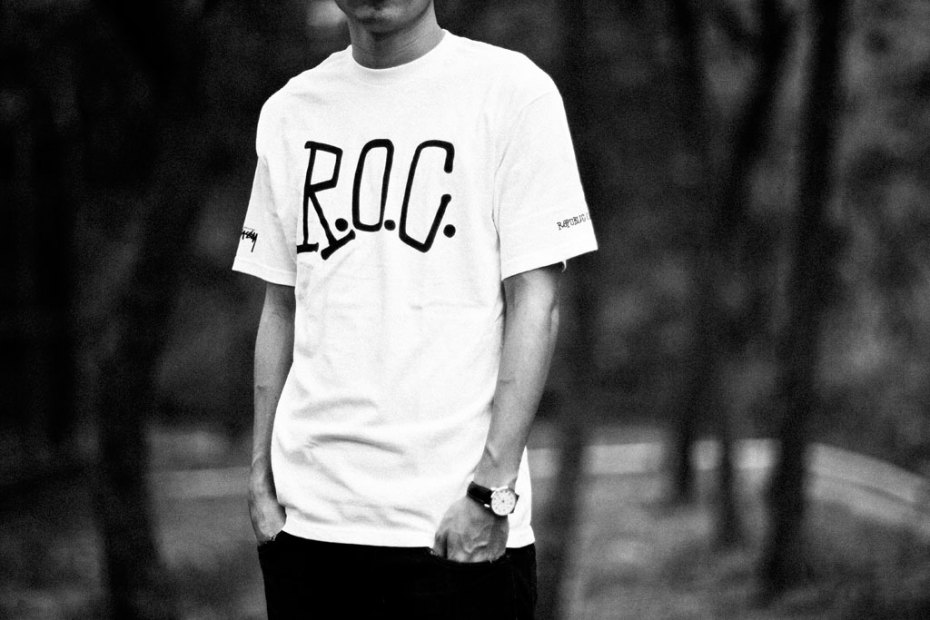 Image of CLOT x Matthew Williams x Stussy R.O.C. World Tour T-Shirts