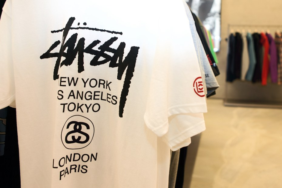 Image of CLOT x Stussy Taiwan Pop-Up Store Opening
