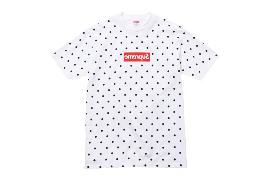 Image of COMME des GARONS SHIRT x Supreme 2012 Capsule Collection