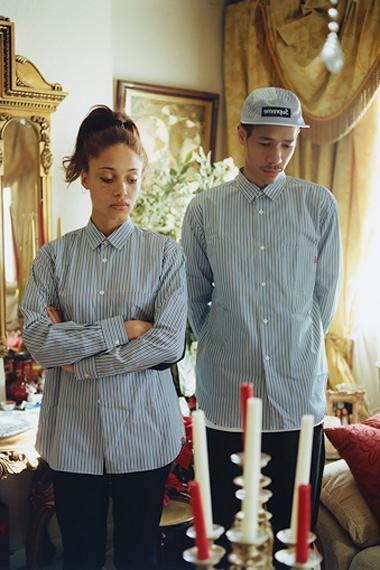 Image of COMME des GARÇONS SHIRT x Supreme 2012 Capsule Collection Lookbook