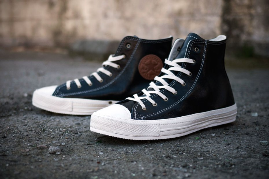 Image of Converse 2012 Spring Chuck Taylor Premium Black Leather