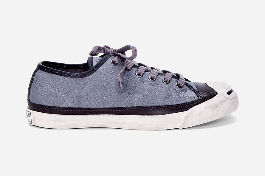 Image of Converse John Varvatos Charcoal Jack Purcell Sneakers