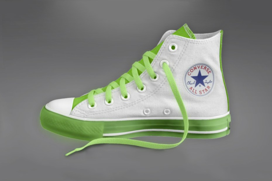 "Image of Converse ""Glow-in-the-Dark"" Chuck Taylor All-Star"