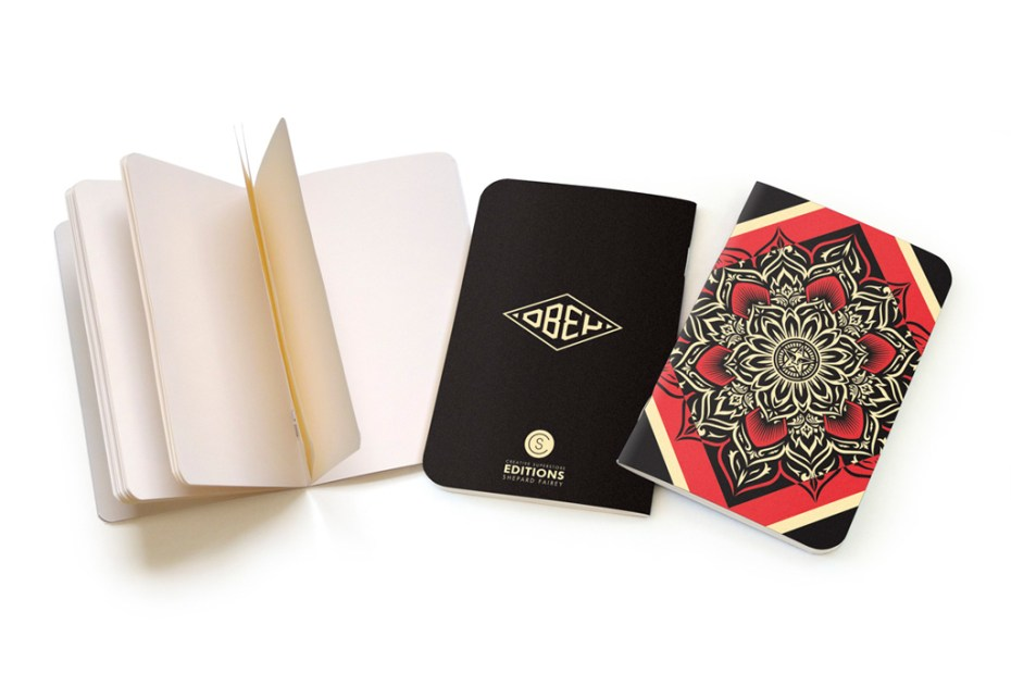 Image of CS Editions Notebooks By Shepard Fairey & Parra