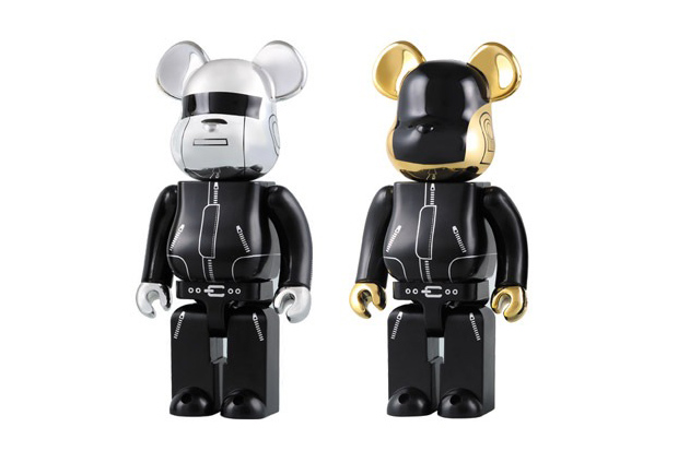 Image of Daft Punk x Medicom Toy 1000% Bearbricks