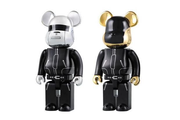 Image of Daft Punk x Medicom Toy 1000% Bearbricks