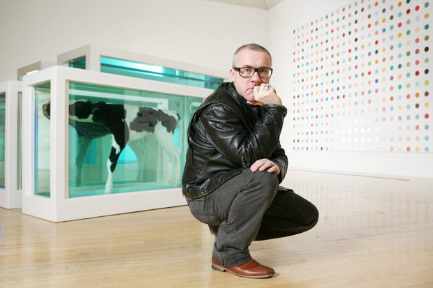 Image of Damien Hirst to Open Gallery