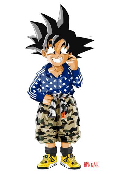 Image of Dragon Ball Z x HMN ALNS
