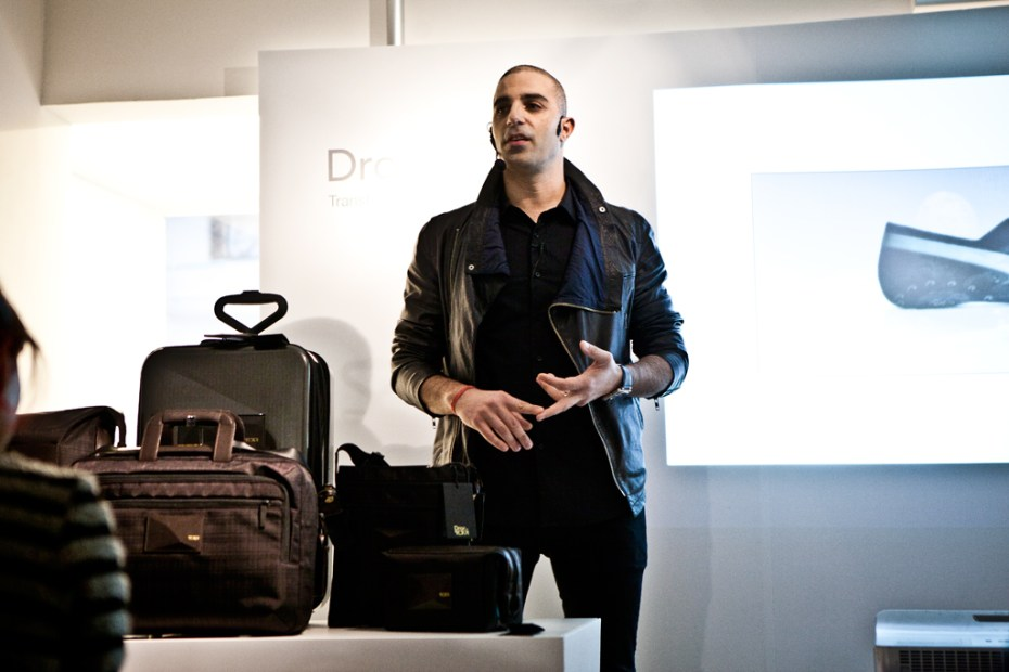 Image of Dror Benshetrit for Tumi 2012 Collection