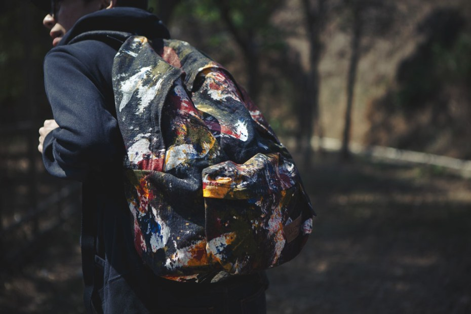 "Image of Eastpak DLAB ""Action Painting"" Backpack"