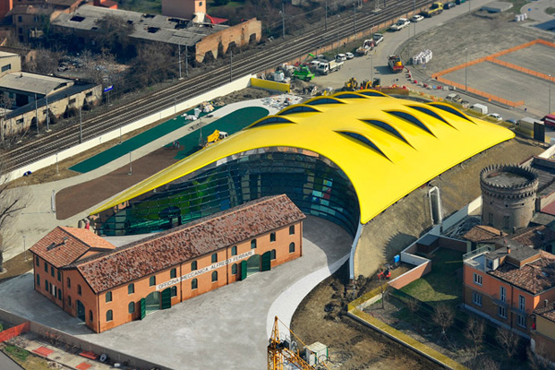 Image of Enzo Ferrari Museum by Future Systems