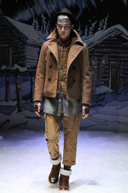 Image of FACTOTUM 2012 Fall/Winter Collection