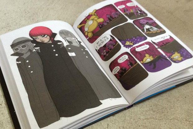 Image of Fafi: The Carmine Vault Book Preview