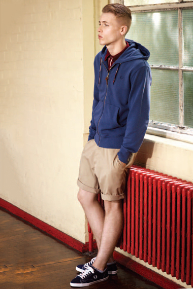 "Image of Fred Perry Authentic 2012 Spring/Summer ""Track and Field"" Collection"