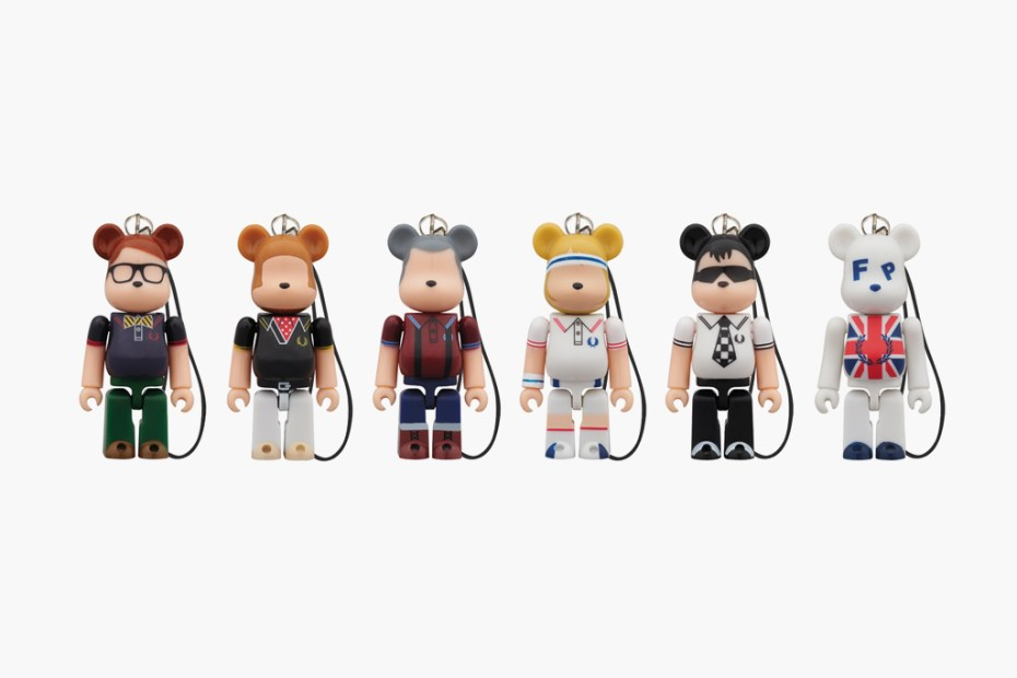 Image of Fred Perry x Medicom Toy 60th Anniversary 70% Bearbrick Series