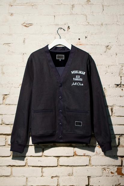 Image of Freshjive Zachary Wohlman Custom T-Shirt & Cardigan