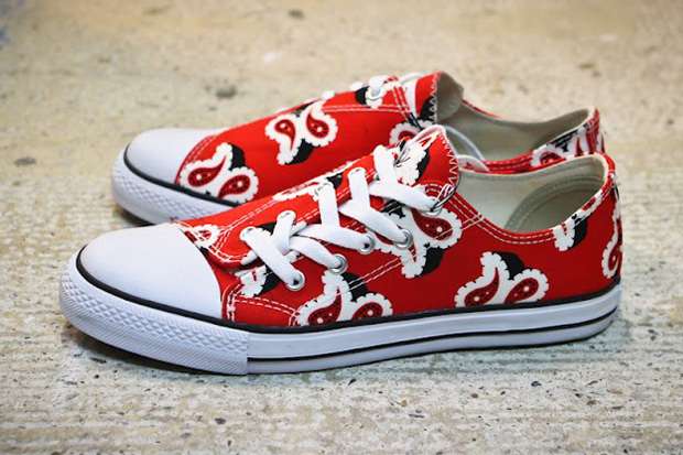 Image of GANRYU COMME des GARCONS 2012 Spring/Summer Paisley Sneakers
