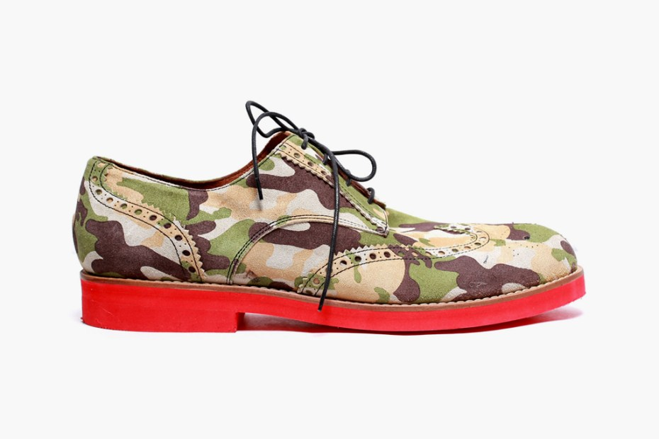 Image of GG x Del Toro Camouflage Brogue