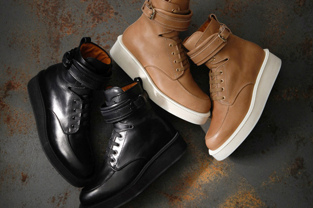 Image of Givenchy by Riccardo Tisci 2012 Spring Leather Boots