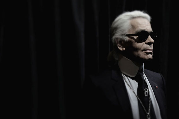 Image of Harpers BAZAAR: 24 Hours With Karl Lagerfeld