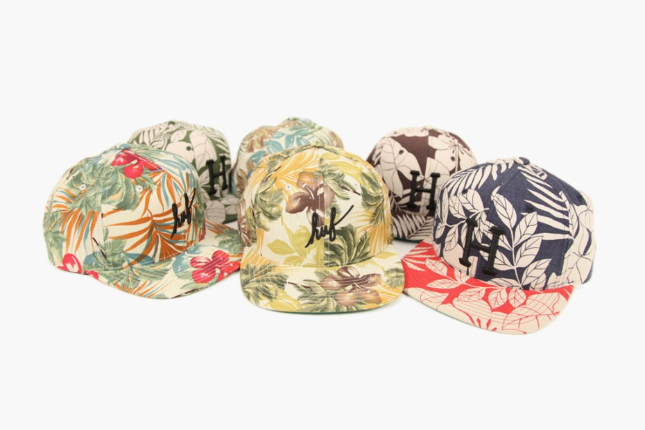 Image of HUF Hawaiian Snapback Pack