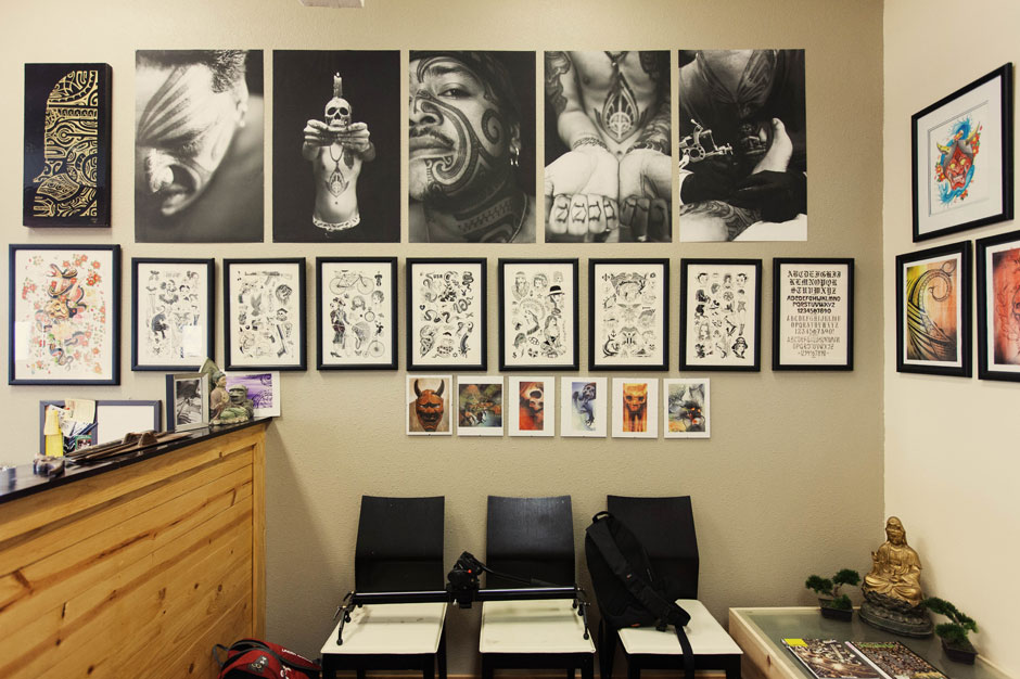 Image of Hypebeast Spaces: Lucky Olelo's Tattoo Studio