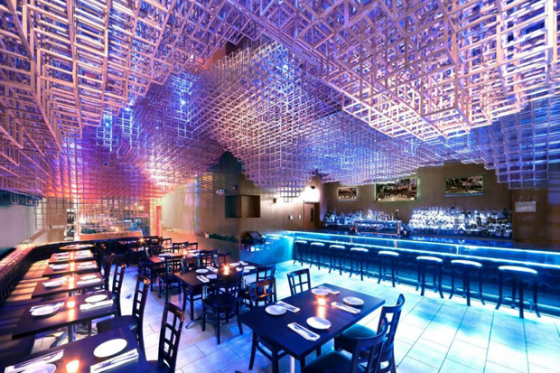 Image of Innuendo Restaurant Ceiling Installation by bluarch