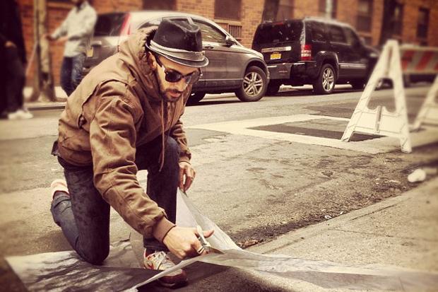 Image of JR x Liu Bolin @ Elizabeth & Spring NYC