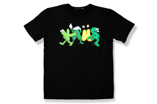 Image of OriginalFake KAWS NEW TEXT 2 T-Shirt