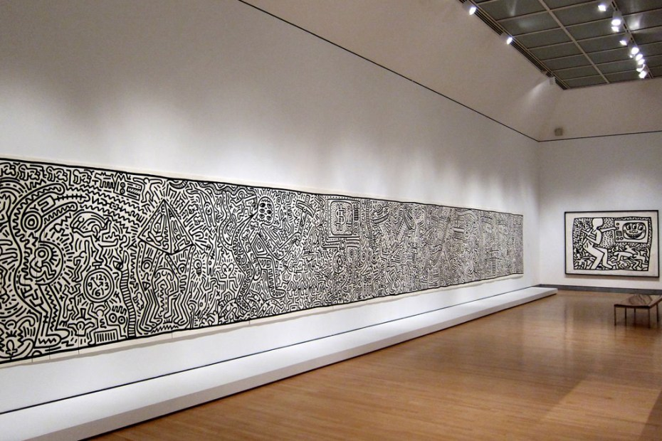 "Image of ""Keith Haring: 1978-1982"" Exhibition @ Brooklyn Museum"
