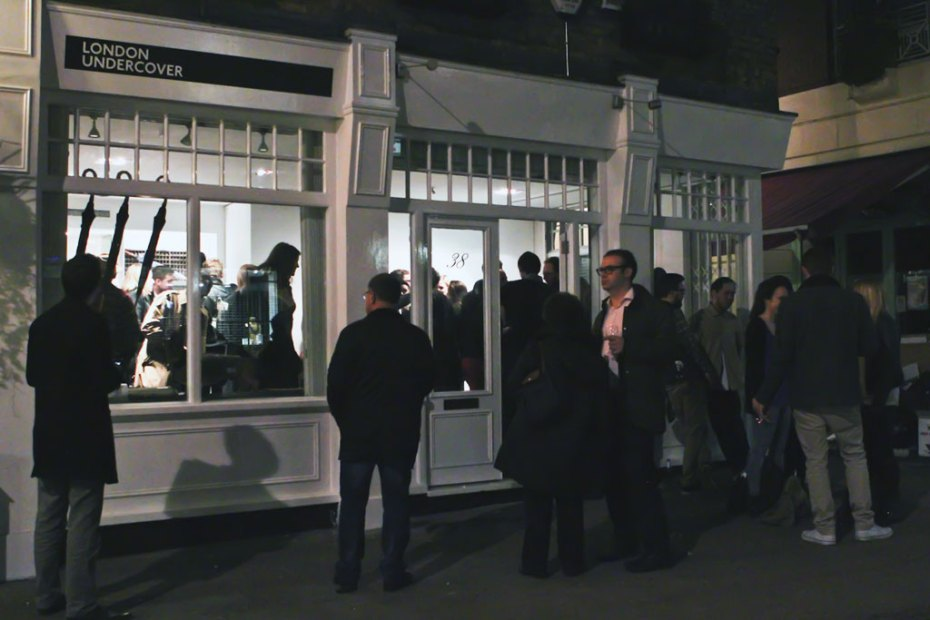 Image of London Undercover 2012 Pop-Up Store Launch Recap