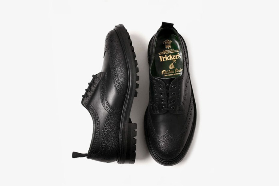 Image of Maiden Noir x Tricker's Brogue Shoes