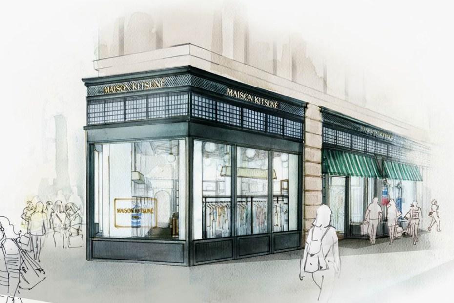 Image of Maison Kitsune New York Preview
