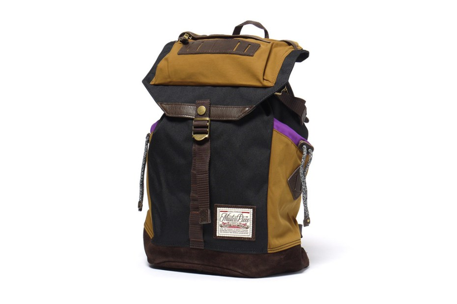 Image of master-piece Cord Rucksack Black