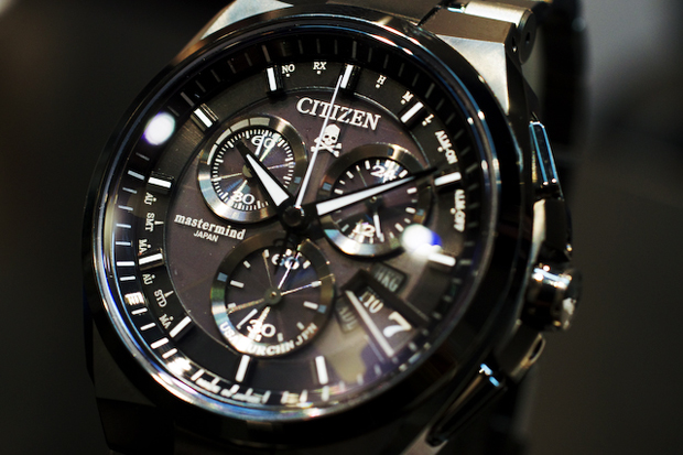 Image of mastermind JAPAN x Citizen Alterna Chronograph Watch Preview