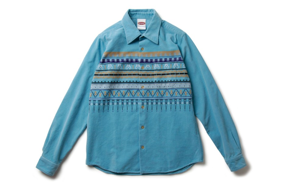 Image of MASTERPIECE 2012 Spring/Summer Native Pattern Corduroy Shirt