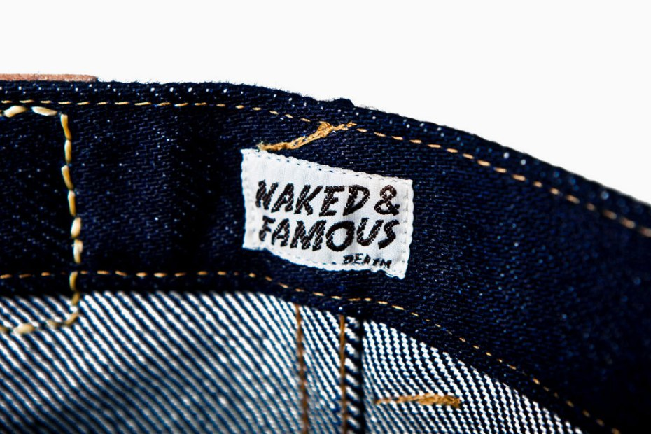 "Image of Naked & Famous ""Weird Guy"" 32oz Heaviest Selvedge Denim"