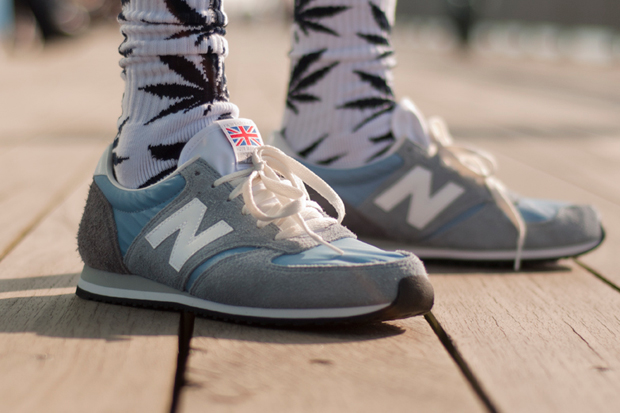"Image of New Balance Made in England U420UD ""Powder Blue/Grey"""
