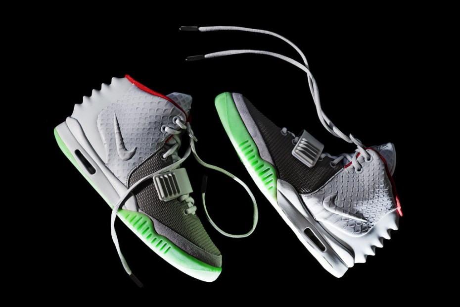 Image of Nike Air Yeezy 2 Wolf Grey/Pure Platinum