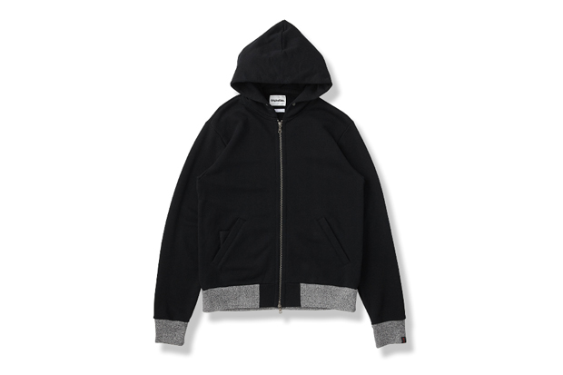 Image of OriginalFake x Loopwheeler Zip Up Hoody