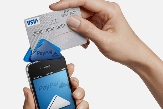 Image of PayPal Here Mobile Payment Device