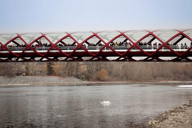 Image of Peace Bridge by Santiago Calatrava