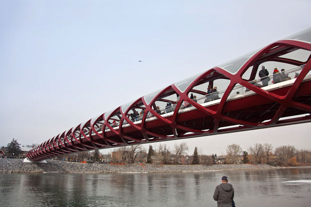 Image of Peace Bridge by Santiago Calatrava