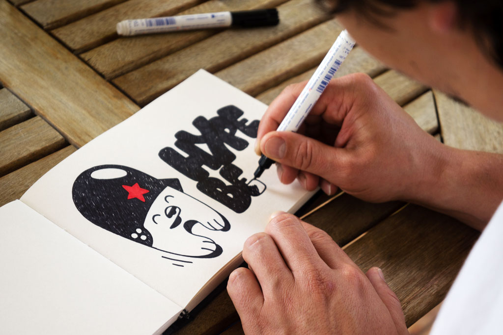 Image of Pen & Paper: Flying Fortress