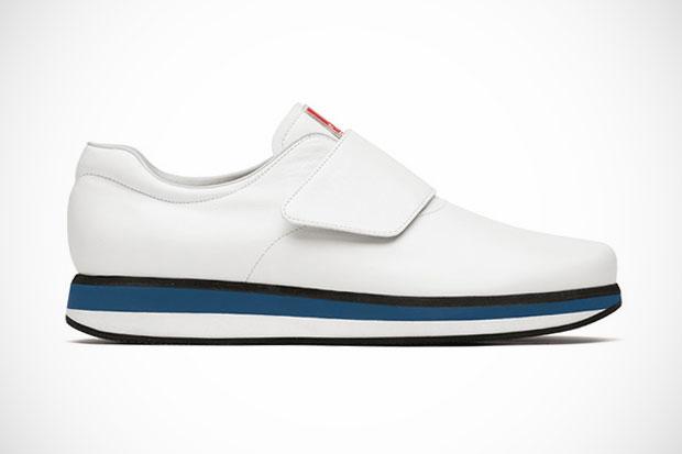 "Image of Prada ""Walking in Tokyo"" Shibuya Sneaker"
